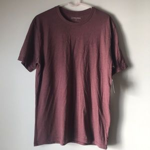 NWT - Men's Volcom Maroon heathered tee